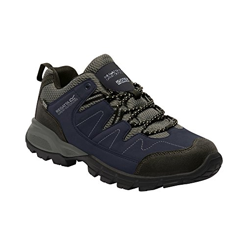 Regatta Holcombe Blue Mens Granite Great Outdoors Walking Shoes Low Navy qqOTwg6R
