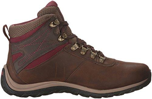Timberland Womens Norwood Mid Waterproof Hiking Boot Dark Brown BrfGj