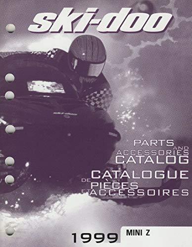 1999 SKI-DOO SNOWMOBILE MINI Z PARTS & ACCESSORIES MANUAL 484 400 010 - Z Mini Snowmobile