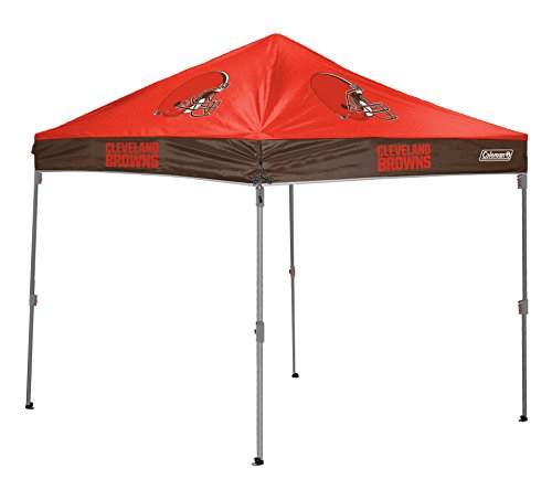 (NFL Instant Pop-Up Canopy Tent with Carrying Case, 10x10)