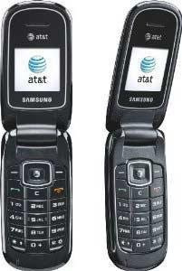Samsung 65218 A107 AT&T Prepaid Flip Phone - Silver
