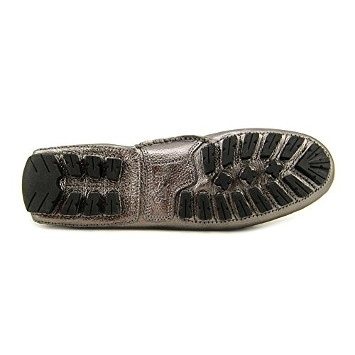 Coach Dames Arlene Leder Gesloten Teen Loafers Warm Tin