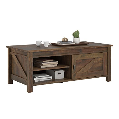 (Ameriwood Home 5741215COM Farmington Coffee Table, Rustic)