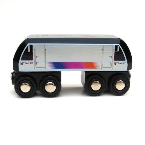 Wooden Toy Train Plans (Munipals MP04-1101 Wooden Train New Jersey Transit NJT ALP-46 Locomotive)