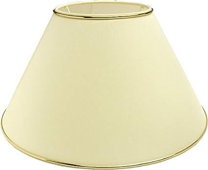 Made in EU E27 Chintz Lampenschirm oval Rot oder Schwarz mit Gold