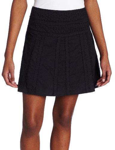 prAna Women's Erin Skirt (Black, 0)