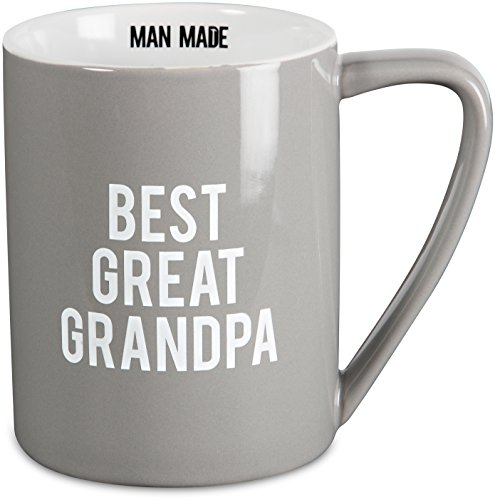 Pavilion Gift Company 14205 Best Great Grandpa Ceramic Mug, 18 oz, Multicolor