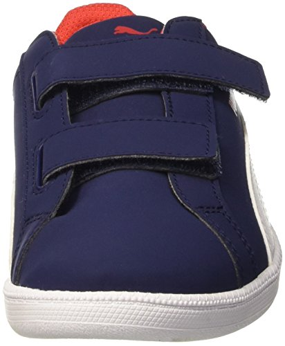 Puma Smash Fun Buck PE Sneaker V, Blanco/Peacoat, 12