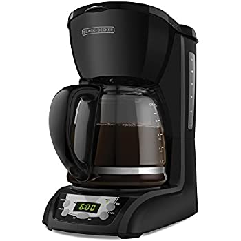 black and decker 12 cup programmable coffee maker manual