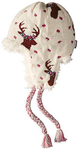 UPC 033977161771, Muk Luks Women's Happy Glam Per Helmet Hat-Deer, Vanilla, One Size