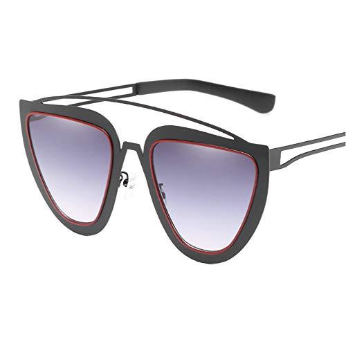 A Soleil Mode Vue Sunglasses Box Big Rétro Lunettes Noir De Lady Chat Cuyag Designer qOt1T4H