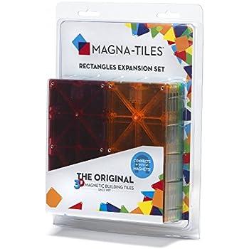 Magna-Tiles 15816 Rectangles 8 Piece Expansion Set