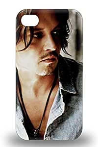 New Cute Funny Johnny Depp American Male John Christopher Depp Pirates Of The Caribbean 3D PC For SamSung Galaxy S4 Phone Case Cover 3D PC ( Custom Picture For SamSung Galaxy S4 Phone Case Cover ) Kimberly Kurzendoerfer