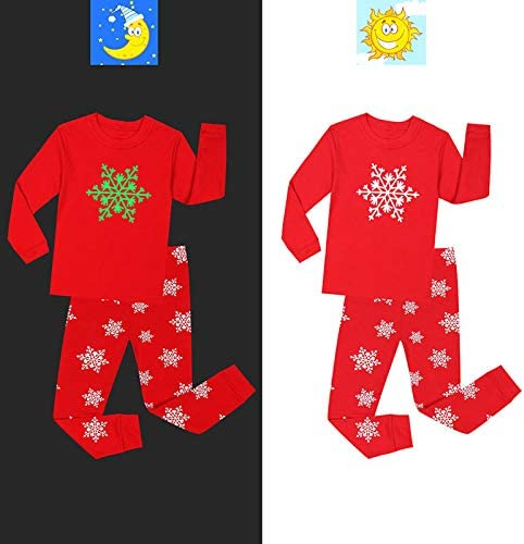 Bmeigo Boys Girls Pajamas Sets Kids Cotton Nightwear Outfit 2 to 8 Years