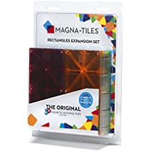Magna-Tiles 15816 Rectangles 8 Piece Expansion Set