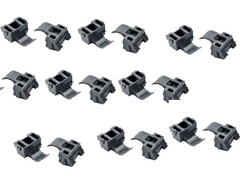 Pro Pack of 20Pcs, Compact Blumotion 86D Angle Restriction Clip, - Hinge Pro