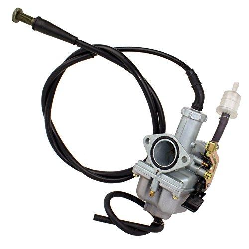 (CALTRIC Carburetor FITS HONDA TRX250EX TRX 250EX SPORTRAX 250 2001-2005 w/Throttle Cable)