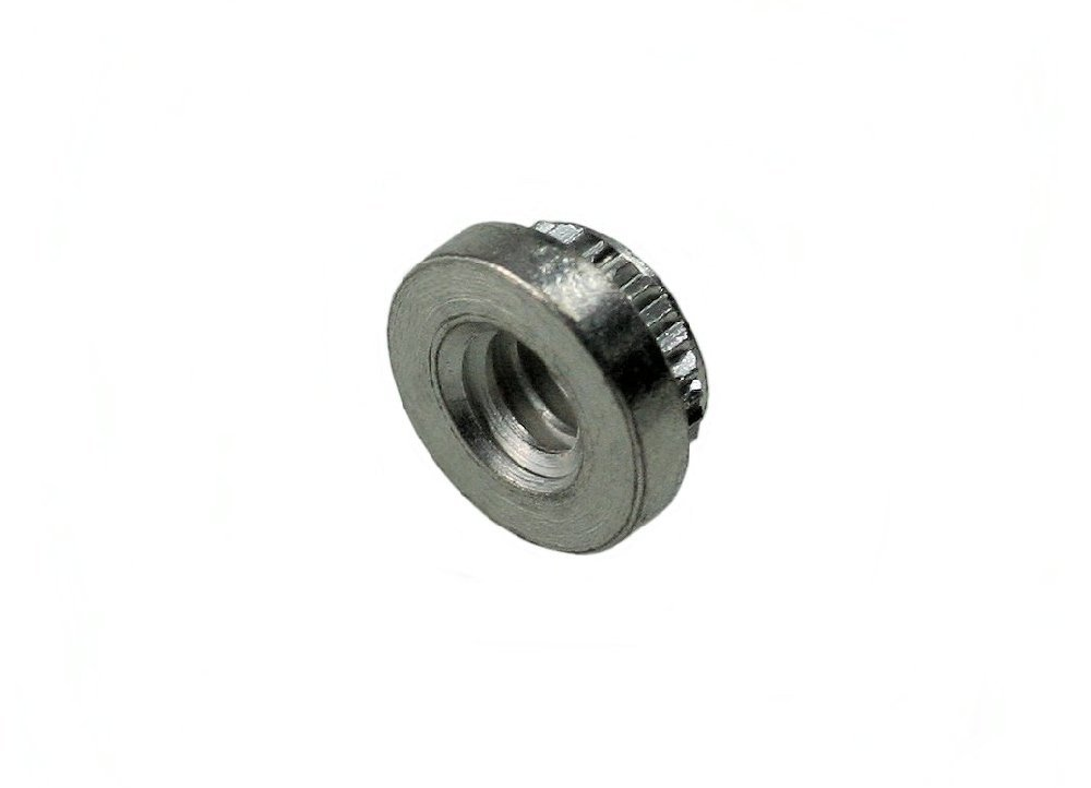 Stainless QTY-25 UNICORP THN5007-M07-F16-0420 9//16 Round Knurled Thumb Nuts 1//4-20 THD x 9//16 OD