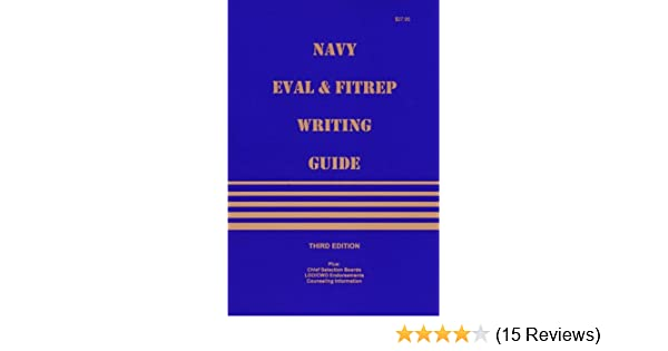 Amazon Navy Eval And Fitrep Writing Guide 9781879123069