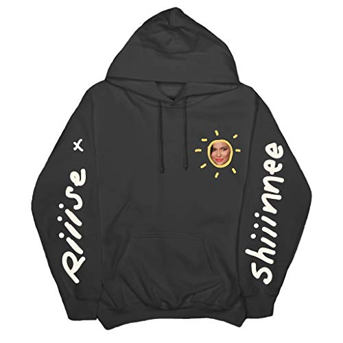 BRULOSTE Riiise Shiiinne Merch Hoodies Kylie Jenner Swearshirt for Mens Womens Youth Kids