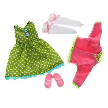 Doll Outfit by LOTTIE LT060 Flower Power Clothing Set | Dolls - Clothes - Accessories - Toy Sets - Collectible | Inspired by real kids!
