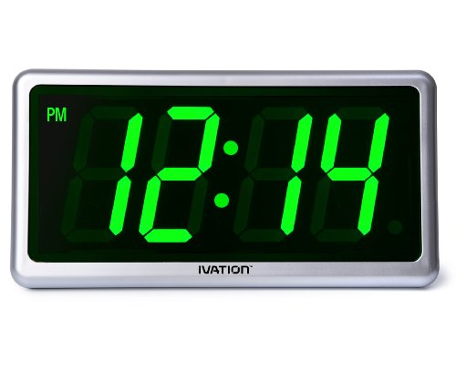 Ivation Big Time Digital Clock
