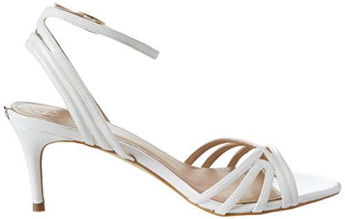 Bianco Scarpe Cinturino Dress Footwear con alla Sandal Guess Caviglia Donna f1Oqz