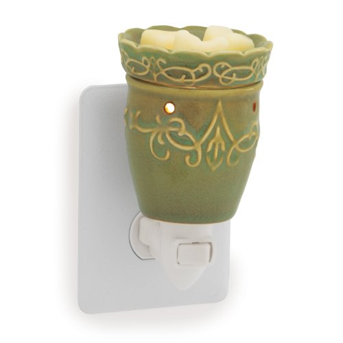 Candle Warmers Etc. Pluggable Fragrance Warmer, Imperial Meadow