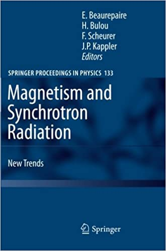 Book Magnetism and Synchrotron Radiation: New Trends (Springer Proceedings in Physics)
