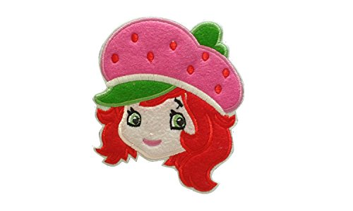 Girl Iron On Patch Fabric Applique Motif