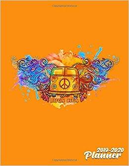 Amazon.com: 2019-2020 Planner Hippie Style: Nifty Boho ...