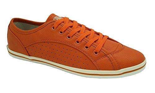 Buffalo London 507-V9987 TUMBLE 144475 Damen Sneaker, orange (ORANGE 85), EU 37