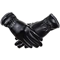 RYOMI Winter Leather Gloves