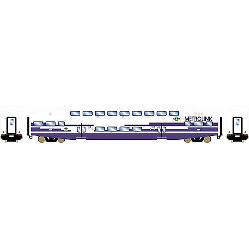 Athearn ATH26012 N RTR Bombardier Coach, Metrolink #126