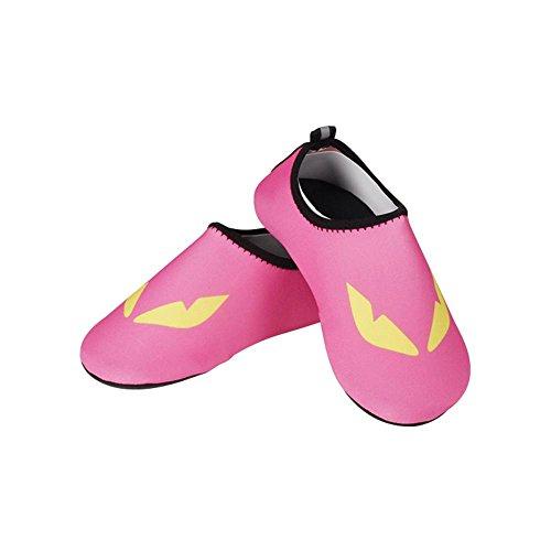 U.Buy - Escapines de Caucho para hombre rosa rosa QFZhcgdAG