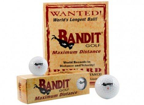 Illegal Distance Golf Balls - Bandit Non Conforming Illegal Maximum Distance Golf Balls 1 Dozen 12 Count Box