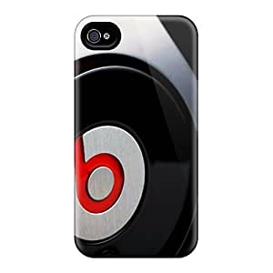For Iphone 4/4s Fashion Design Beats By Dr Dre Case-UVQ963NpVr
