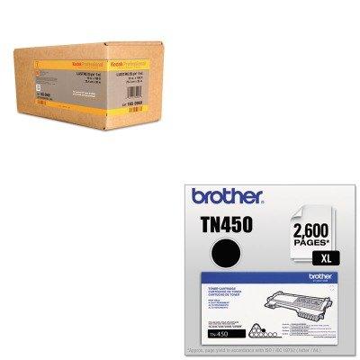 KITBMGKPRO10LBRTTN450 - Value Kit - Kodak Professional Inkjet Photo Paper Roll (BMGKPRO10L) and Brother TN450 TN-450 High-Yield Toner (BRTTN450) by Kodak