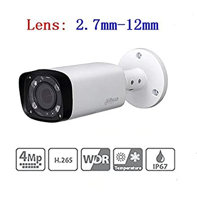 Dahua 4mp Bullet PoE IP Camera IPC-HFW4431R-Z 2.7-13.5mm Lens Motorized Varifocal Waterproof Network Security Surveillance System by dahua