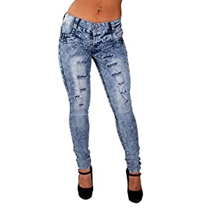 Colombian Design, Butt Lift, Levanta Cola, Ripped Skinny Jeans