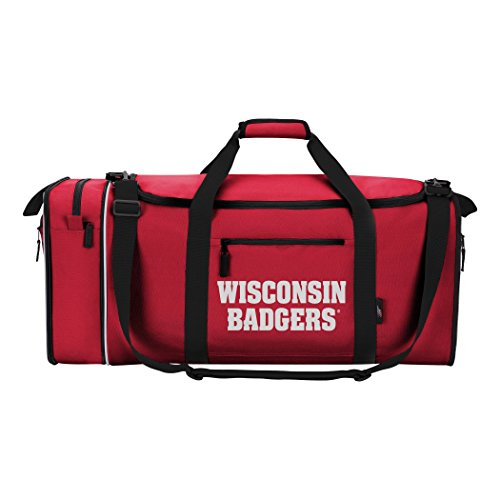 (Officially Licensed NCAA Wisconsin Badgers Steal Duffel Bag)