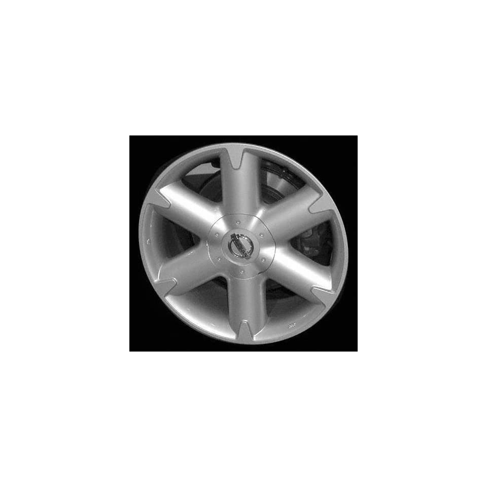 03 05 NISSAN MURANO ALLOY WHEEL RIM 18 INCH SUV, Diameter 18, Width 7.5, Lug 5 (6 SPOKES), CHROME, 1 Piece Only, Remanufactured , (center cap not included) (2003 03 2004 04 2005 05) ALY62421U85
