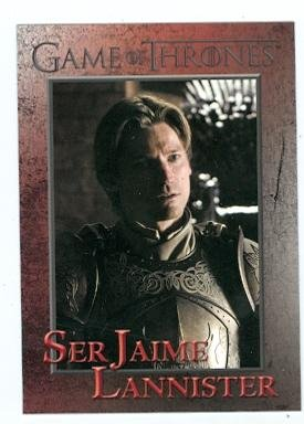 Game of Thrones trading card #47 2012 Ser Jaime Lannister
