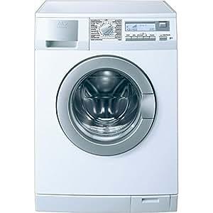 AEG L-62850-L Independiente Carga frontal 7kg 1200RPM Color blanco - Lavadora (Independiente, Carga frontal, Color blanco, LCD, Izquierda, A)