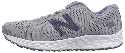 New Balance Women's Fresh Foam Arishi V1 Running Shoe, Light Grey/Purple, 5 B US by New Balance (Image #5)
