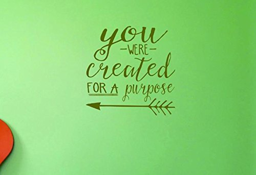16 Inches X 24 Inches Color Design with Vinyl US V JER 3359 2 Top Selling Decals You Were Created For A Purpose Wall Art Size Multi 16 x 24