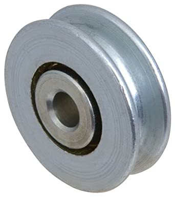 Sava CBL-990 Steel Pulley Wheel For cable size to 3/16, Bore (A)=1/4 Diameter