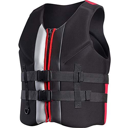 - TINTON LIFE Swimming Rafting Surfing Water Sports Neoprene Life Jacket Vest for Children Adult,Black