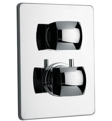 La Toscana 89CR690TH Lady Thermostatic Shower Valve, Chrome by La Toscana by La Toscana