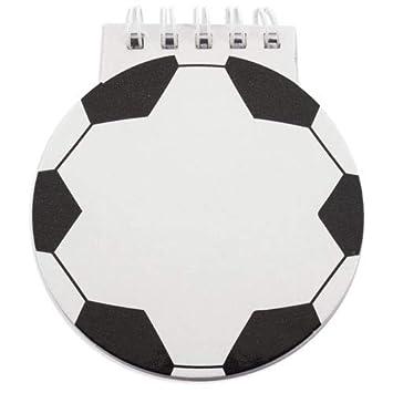DISOK - Libreta Infantil FÚTBOL - Libretas Originales Balón Futbol ...